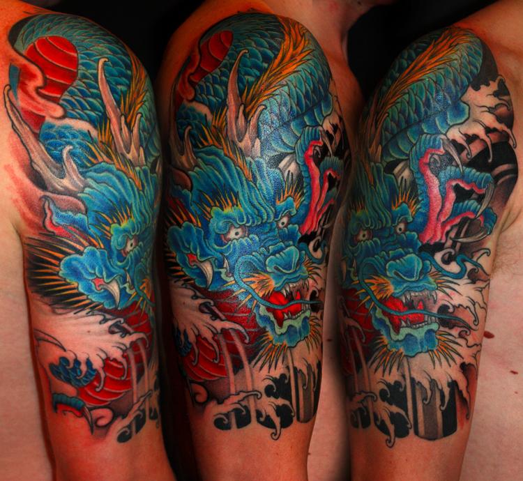 Tatouage phoenix bras tatouage dragon bras with tatouage phoenix bras finest dimitri hk tattoo - Tatouage phoenix bras ...